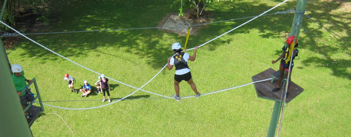High Ropes Challenges!